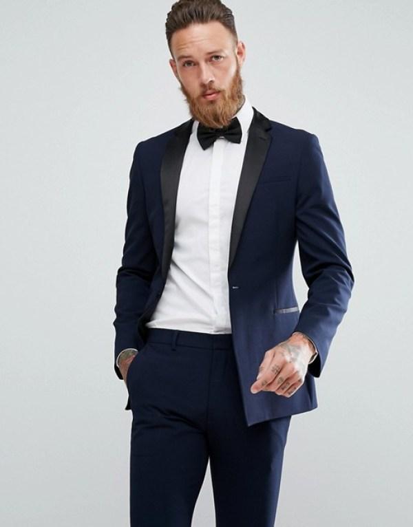 tenue pour nouvel an veste bleu