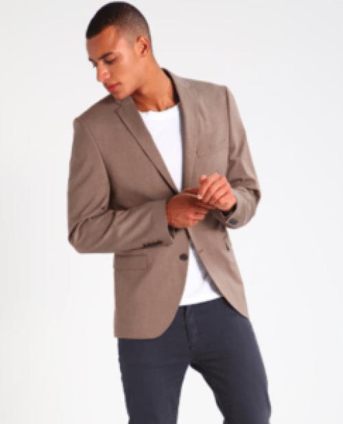 blazer marron pour homme idée de look