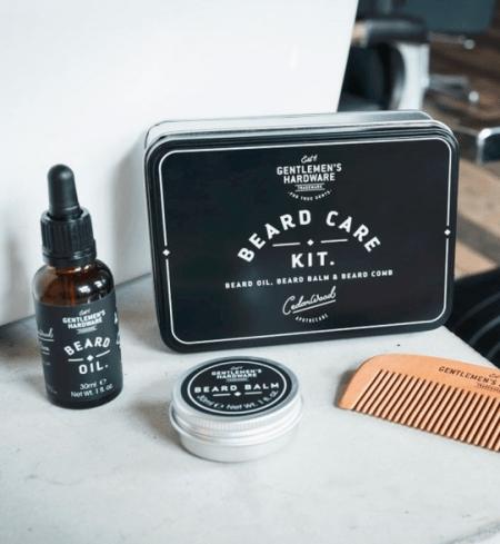 kit soin barbe à offrir pour la St Valentin