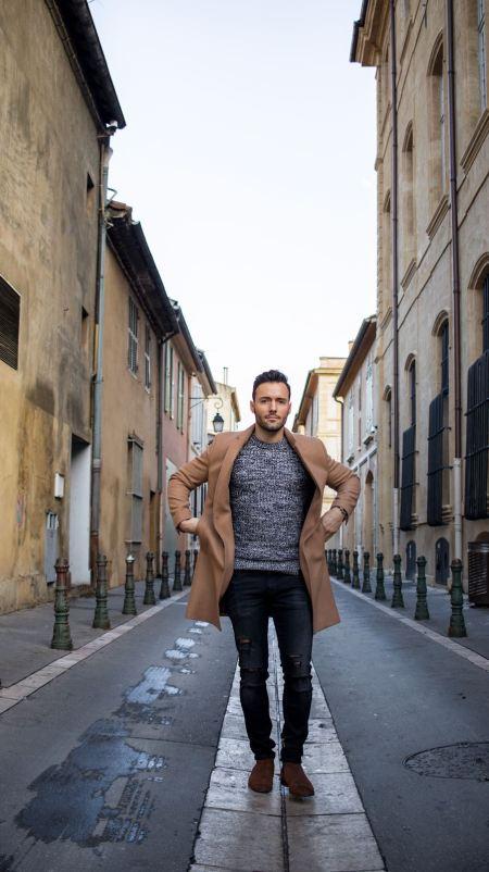 Thibaut modelia look pour homme