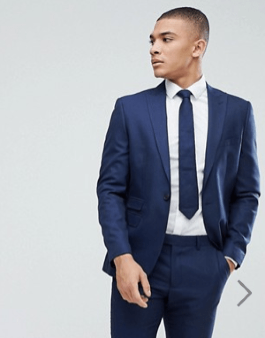 idée de tenue homme blazer bleu marine coupe slim
