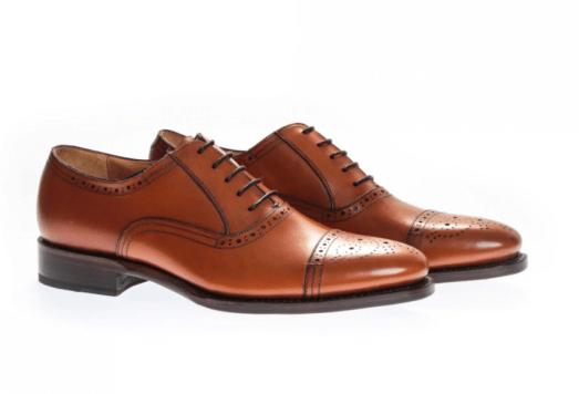idée de tenue pour homme richelieu en cuir