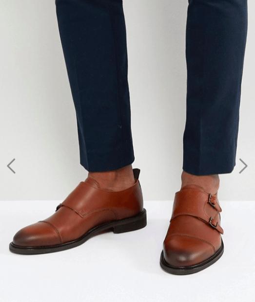 idée de look pour homme chaussure derby à boucles
