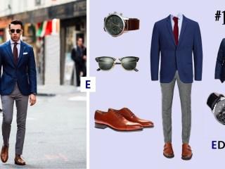 idée de tenue pour homme Edgard L'élégant blog de mode pour homme