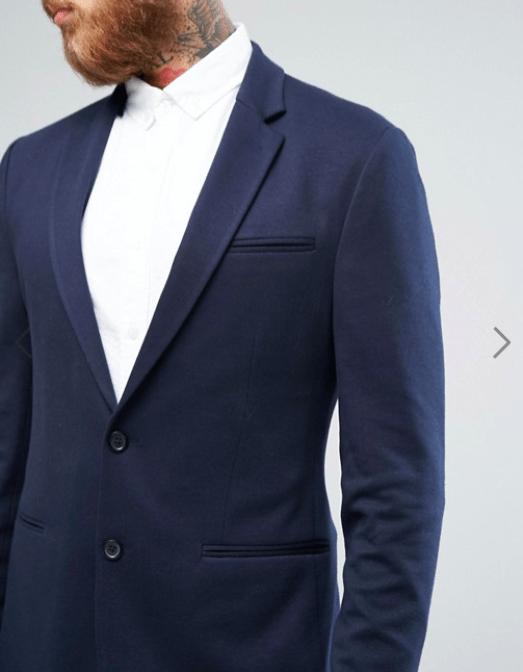 idées de vestes bleu marines pour homme Asos