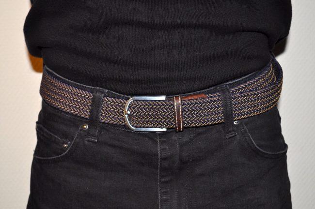 ceinture tressée pour homme Billy Belt