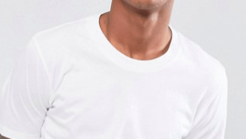tee-shirt de qualité à col rond