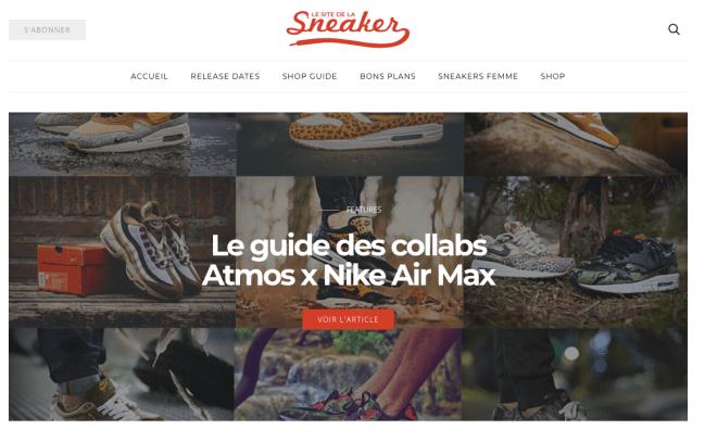 les blogs de mode pour homme à suivre sneaker addict