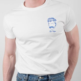 t-shirt col rond pour homme Edgard