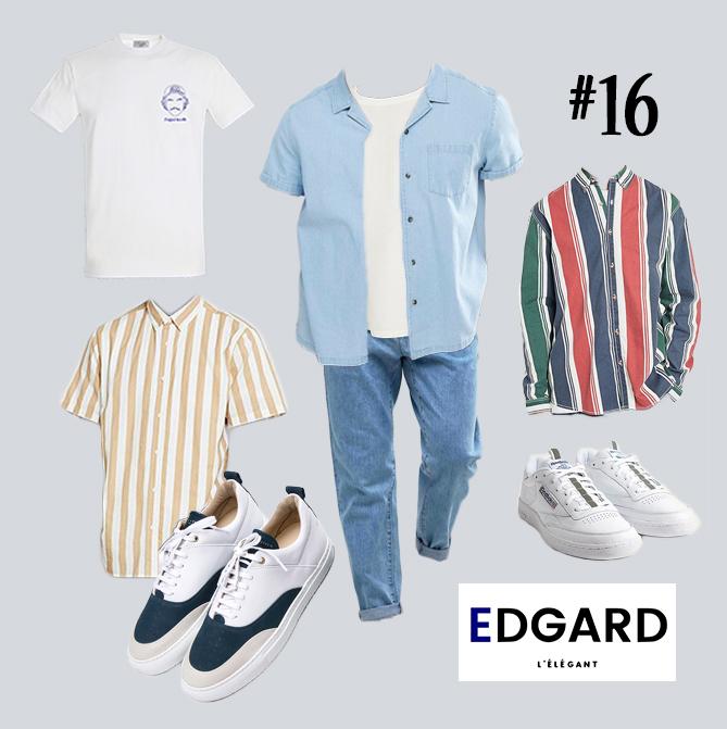 idée de look homme Edgard L'élégant