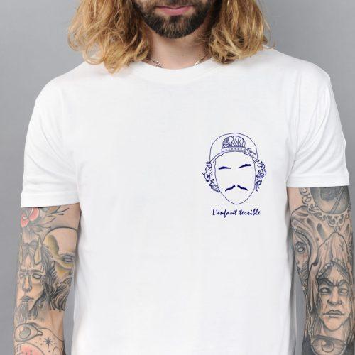 tee shirt homme edgard paris l'enfant terrible