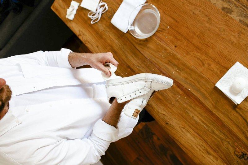 conseil pour bien nettoyer ses baskets blanches