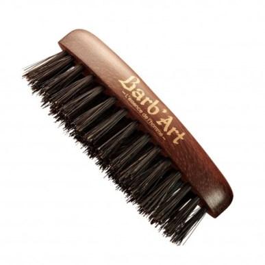 brosse pour moustache et barbe poils sanglier