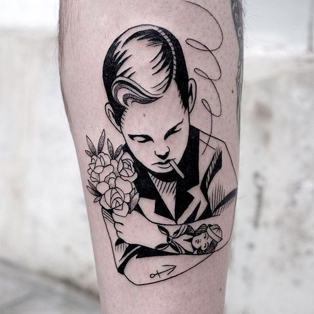 Le meilleur salon de tatouage de Paris salon Les maux bleus