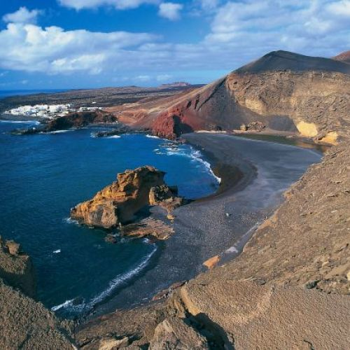 sable noir Lanzarote