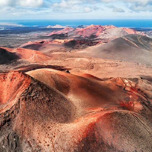 Lanzarote île volcanique