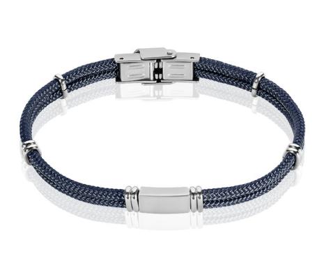 Bracelet bleu idée de look élégant
