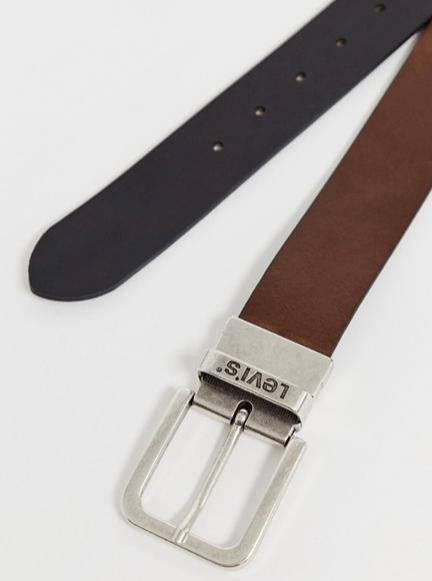 ceinture marron levis look classe