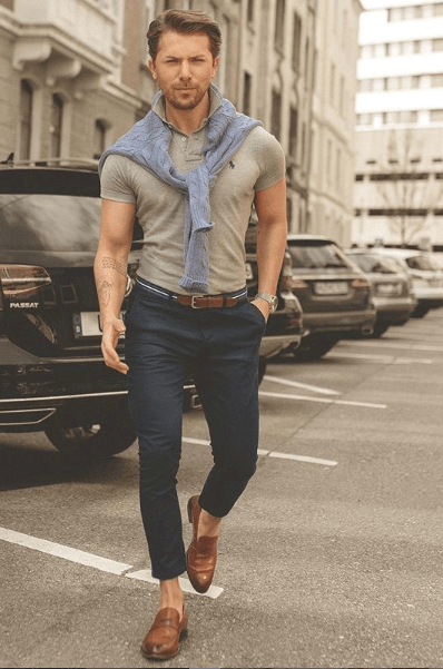 idée de look casual homme