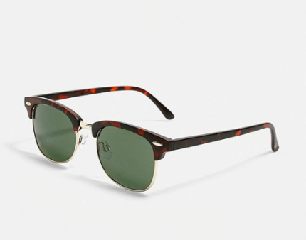 lunettes de soleil urban outfitters marron idée de look chic