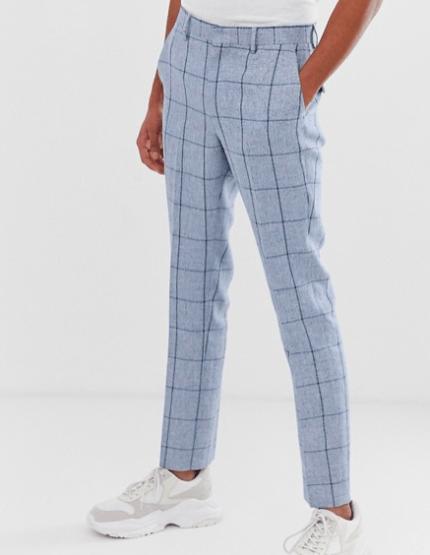 Pantalon bleu Asos idée de look habillé
