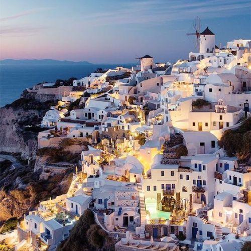 cyclades de Santorini en Grèce