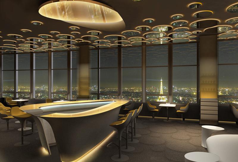 Ciel de Paris top 10 restaurants romantiques romantiques