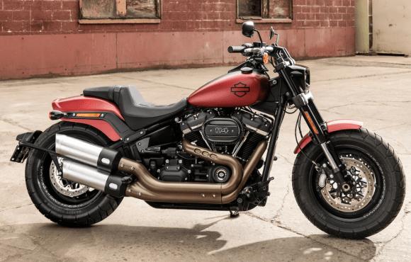 Harley-Davidson fat Bobstyle Café Racer