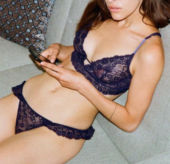 lingerie culotte soutien gorge femme girls in paris cadeau saint Valentin