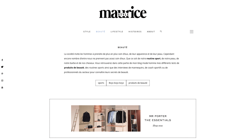 blogs mode hommes a suivre maurice style
