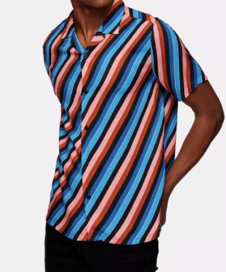 look de la semaine chemise à rayures
