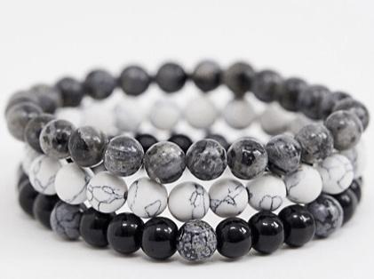 look de la semaine bracelets en perles
