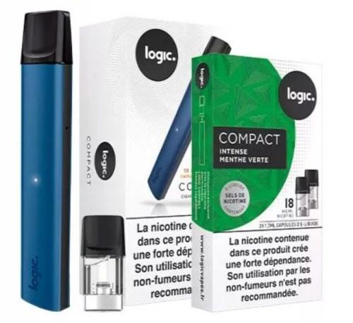 cigarette électronique logic compact vapoter
