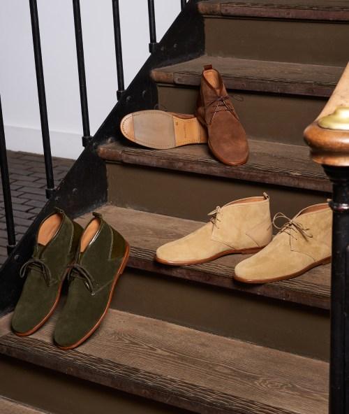 bottine paire et fils chaussures haut de gamme homme