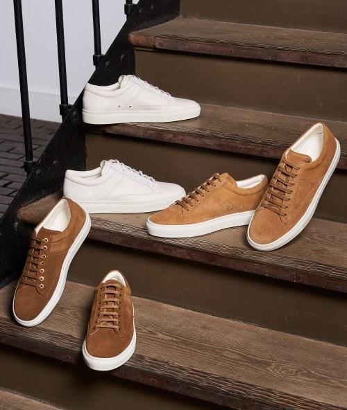 sneakers homme été tendance paire & fils daim