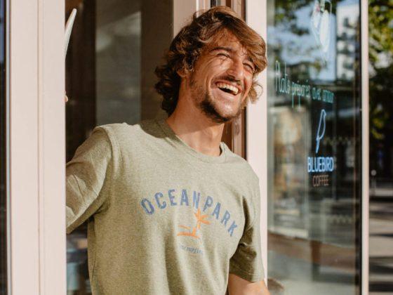 Tshirts Ocean Park surf et humour à la bretonne