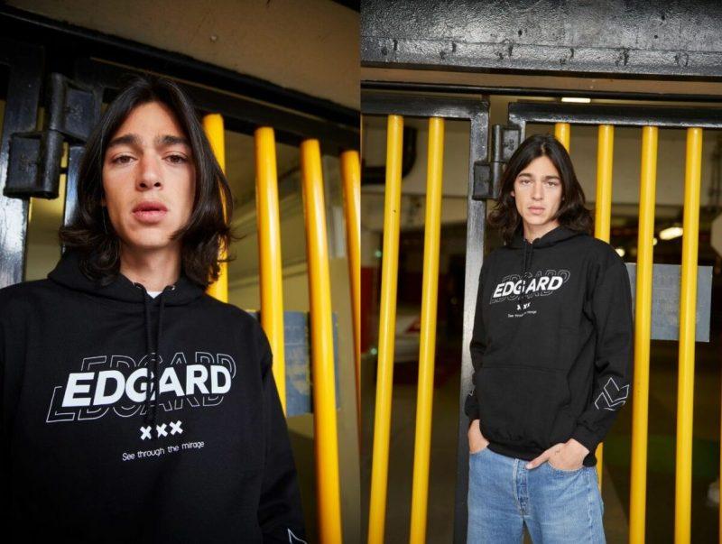Sweat-shirt Glitch Edgard Paris