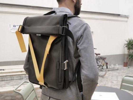 Along le sac à dos modulaire