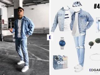 Idée de look 40 total jean