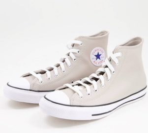 Converse montantes taupe