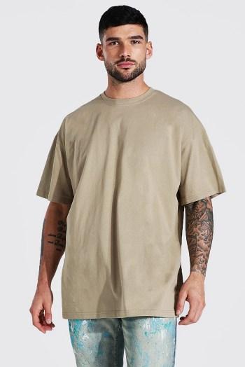 T-shirt oversize Boohoo