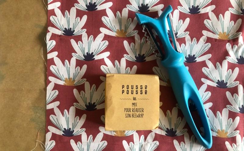 Le kit mon Bee Wrap de Pousse Pousse