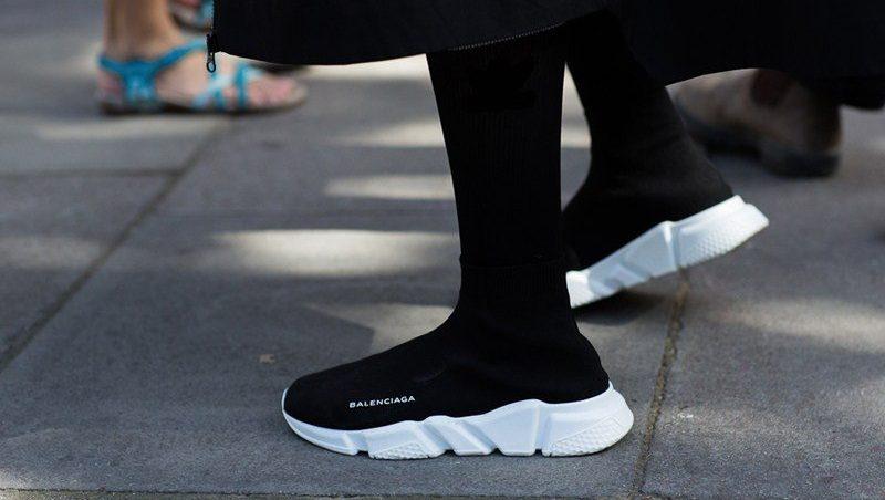Les meilleures imitations de chaussures de luxe Balenciaga Speed Trainer