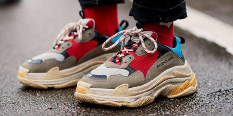 Les meilleures imitations de chaussures de luxe Balenciaga Triple S