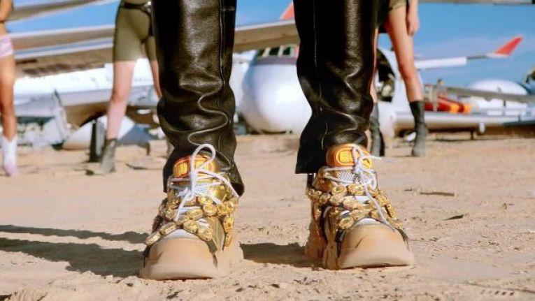 Les meilleures imitations de chaussures de luxe Gucci Flashtreck