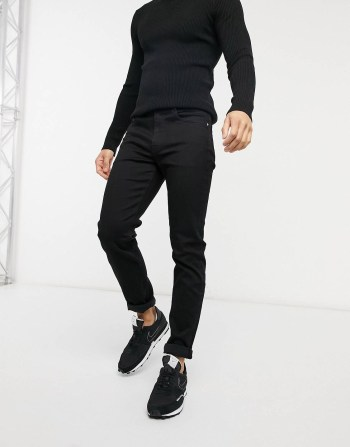 Jean slim noir Calvin Klein Jeans