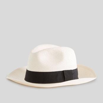 Outfit de la semaine Chapeau panama en paille MONOPRIX