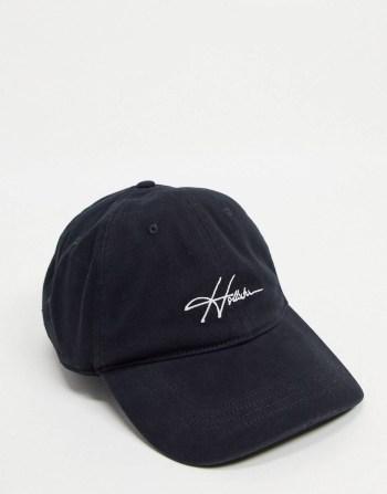 Idée de look d'été Casquette avec logo noire Hollister