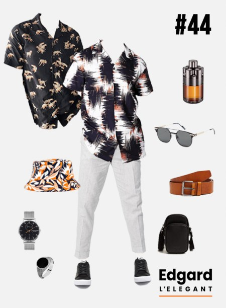 tenue homme pour les soirées d'été