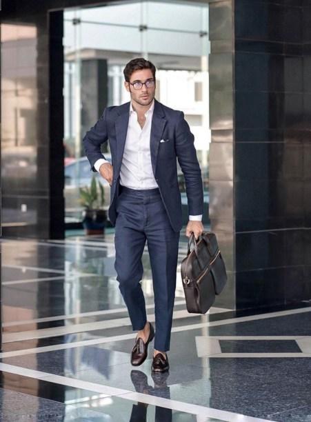 Comment s'habiller pour aller au travail dresscode costard